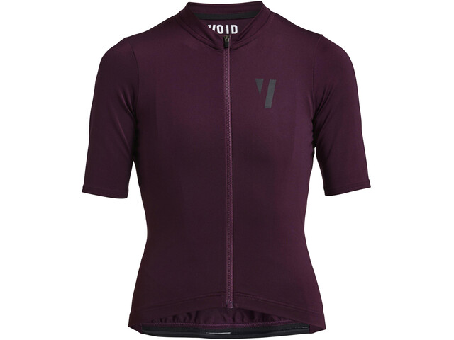 VOID Fine 2.0 Kurzarm Trikot Damen deep purple